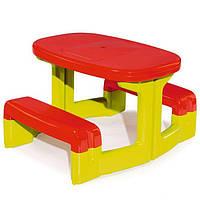 Столик для пикника детский  Smoby - Франция -  красного цвета
