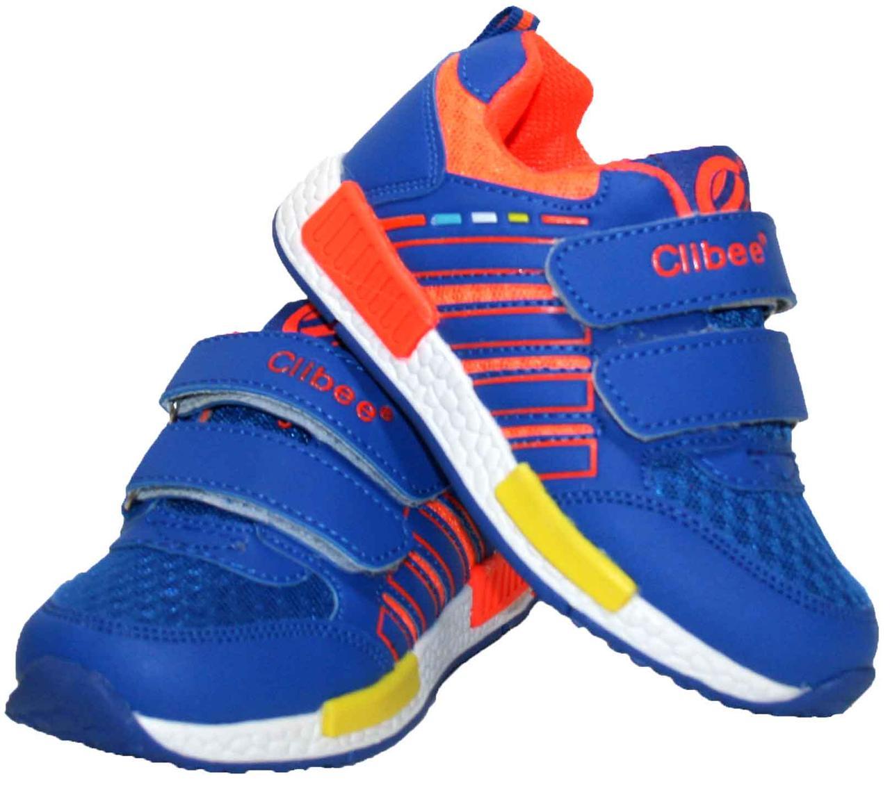 Дитячі кросівки для хлопчика Clibee Польща розміри 26-31