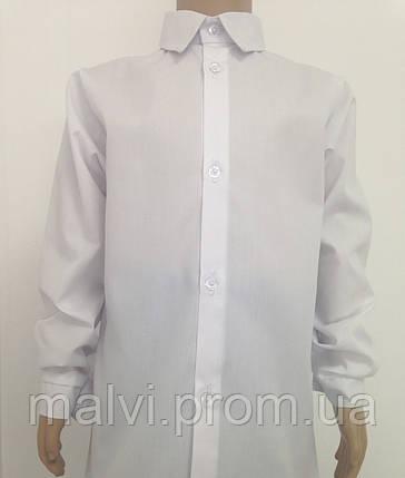 Сорочка шкільна біла для хлопчика батист   продажа 3b68486fc1041