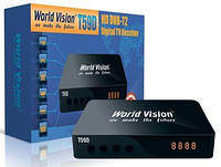 Т2 ресивер (тюнер) World Vision T59D. DolbyDigital (AC3) Все форматы