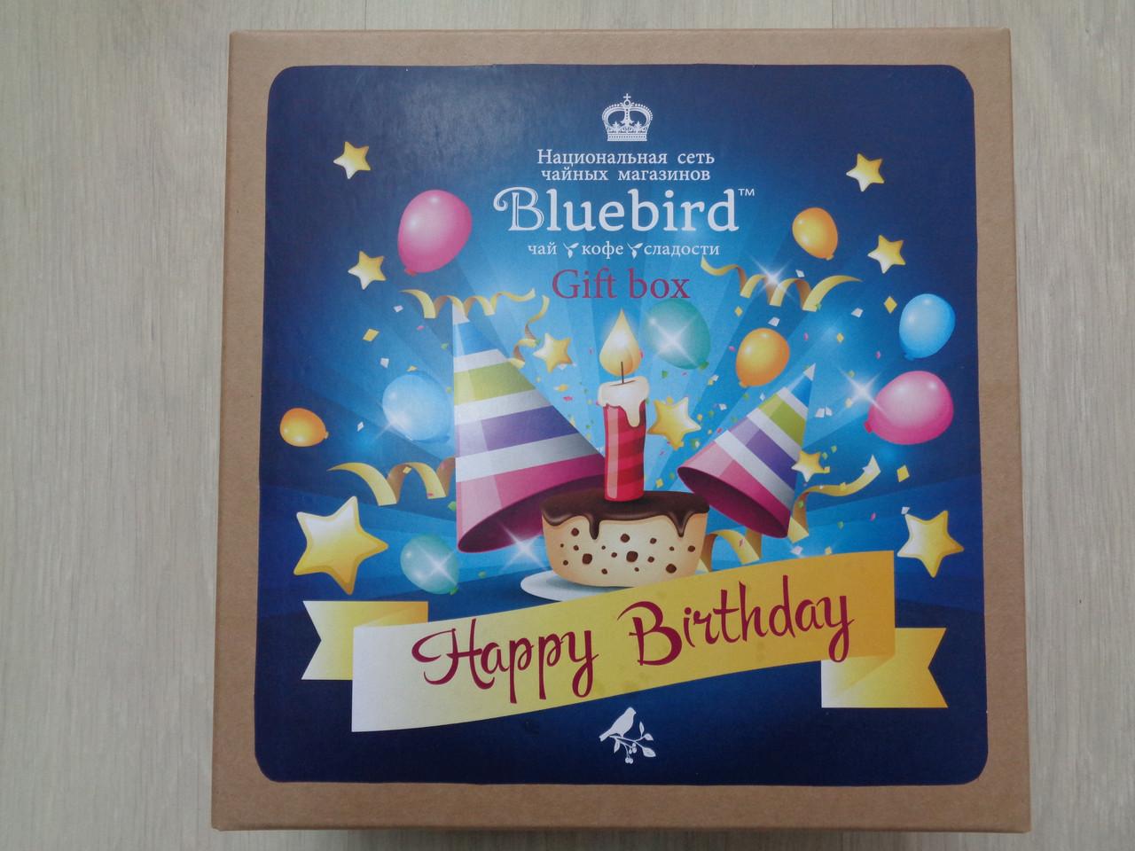 Чайный набор подарочный Happy birthday