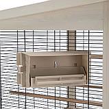 Ferplast Вольер для птиц Wilma деревянный 83*67*158,5 см, фото 3