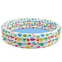 Детский надувной бассейн «Конфетти» Intex 56440 (168х41 см) HN