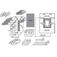 Комплект одежды операционный для лапароскопии № 1/В, стерильный