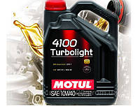 Моторное масло Motul 4100 Turbolight SAE 10w40 (4л)