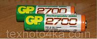 Аккумулятор GP-2700mAM NiMh (2700AAHC), фото 1