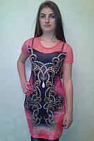 Платье с сеточкой effe 8056