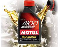 Моторное масло Motul 4100 Multidiesel 10W-40 (1л)