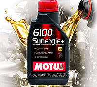 Моторное масло Motul 6100 Synergie+ 10w40 (1л)