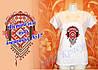 Женская футболка под вышивку №17