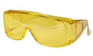 Очки защитные желтые, усиленные