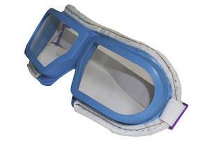 Очки защитные синие (обшитые)