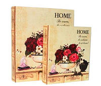 """Книга-шкатулка """"Home"""" набор 2 шт"""