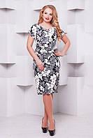 Батальное женское летнее платье Кора VLAVI 52-58 размеры