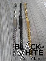 Стальной браслет (Черный)