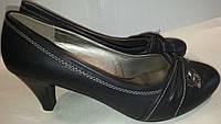 Туфли женские р37 YzY черные BOGI