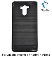 Противоударный бампер PRIMO Carbon Fiber Series для Xiaomi Redmi 4 / Redmi 4 Prime