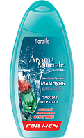 Минеральный шампунь для волос против перхоти For men, 250 г