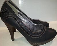 Туфли женские р35 YzY черные BOGI
