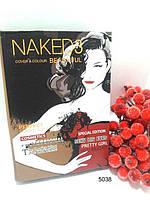5038 Тени NAKED 3 ( блокнот с девушкой в красном платье )