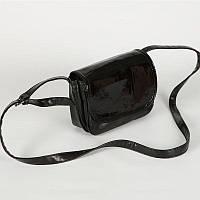 Женская сумка через плечо М55-Z/лак black