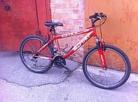 Хороший б/у велосипед, 24 колеса, на вырост, перебран, смазан, новая вилка