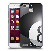Силиконовый чехол для Huawei G8 Mini узор Бильярдный шар