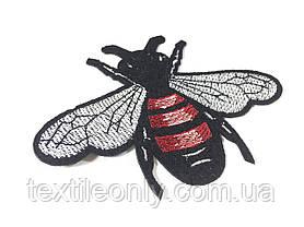 Нашивка пчела 110х80 мм, фото 3