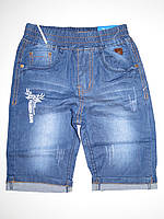 Джинсовые шорты для мальчиков F&D оптом,116-146 pp.