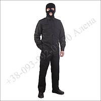 Форма полиции нового образца, костюм полицейского черный