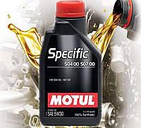 Моторное масло Motul Specific 504 00 507 00 5W30 (1л)