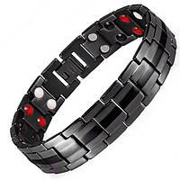 Магнитный браслет - Топ Люксор (black) 4 в 2