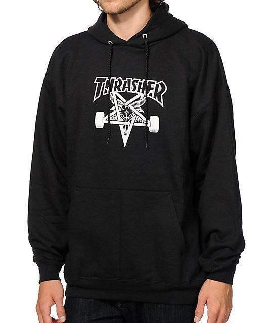 Худи мужская HUF x Thrasher Hoodie | Оригинальная бирка