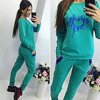 Женский спортивный костюм мята