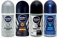 Шариковый дезодорант для мужчин Nivea Man, 50 мл., 1 шт. на выбор