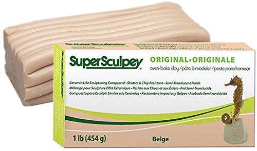 Полимерная глина Супер Скалпи «SUPER SCULPEY»,цвет телесный,имитация кожи