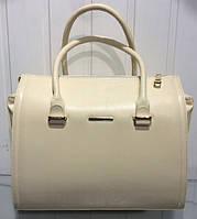 Бежевая женская сумка искусственная кожа, Харьков, классические сумки