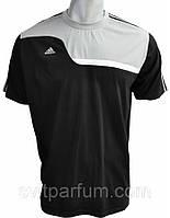 Мужская футболка Adidas из хлопка, мужские футболки оптом, футболки адидас V-b-g_3C1