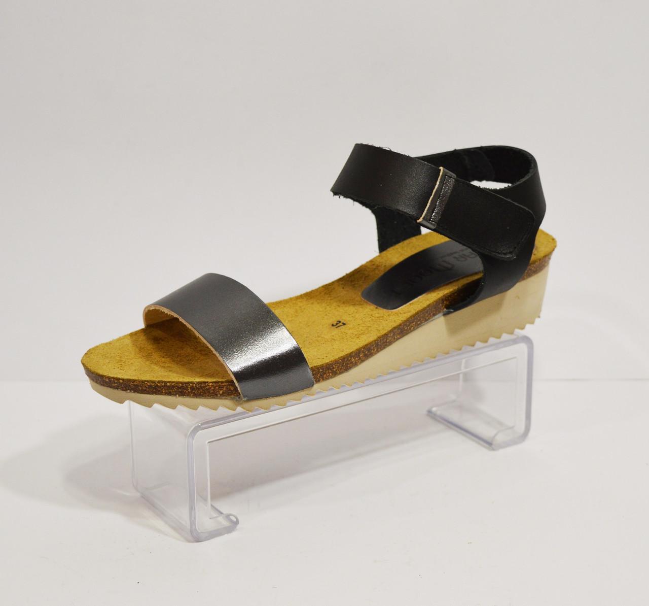 Босоножки женские кожаные Pilar monet 20040