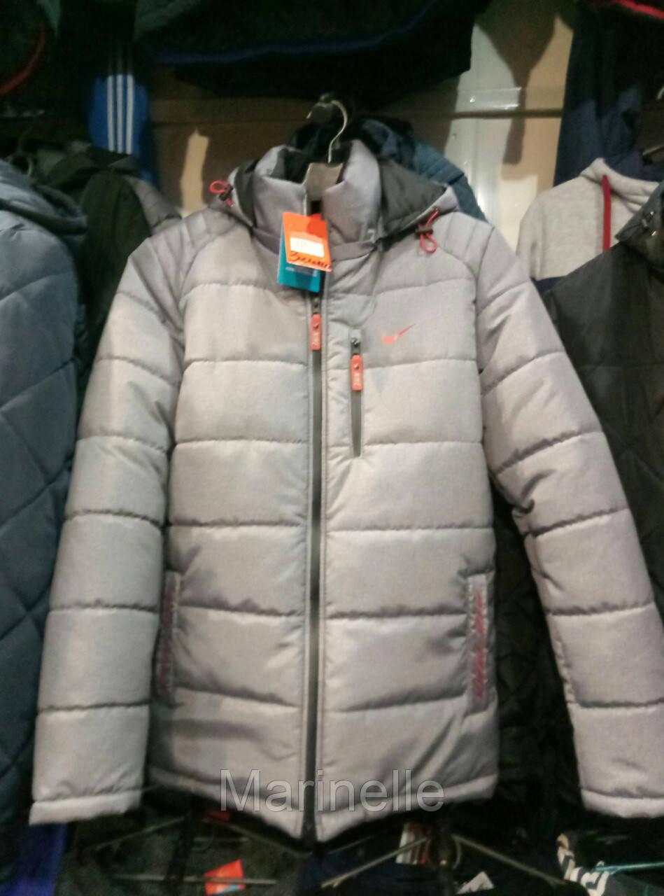 Мужская зимняя куртка Nike из плащевки копия - Marinelle в Харькове 899c6e97b90