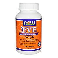 Ева  Витамины для женщин 180 гелевых капсул женские мультивитамины Now Foods USA