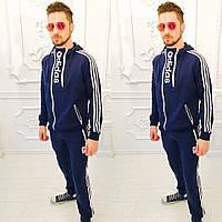 Мужской спортивный костюм Adidas двухнита