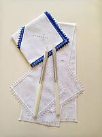 Крестильный набор (крижма, свечи, платочки, рушник)