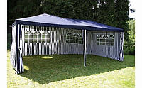 Садовый павильон шатер палатка тент 3 х 6 м + 6 стенок