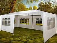 Палатка садовый павильон шатер навес 3х6м, 6 стен, разные цвета