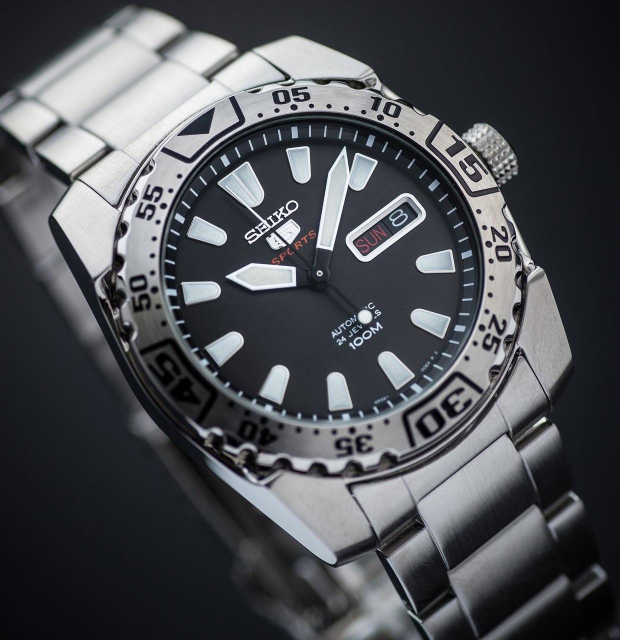 Часы Seiko 5 Sports SRP165K1 Automatic 4R36