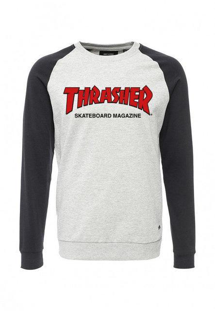 "Свитшот мужской с принтом ""Thrasher Magazine"" | Кофта комбо"