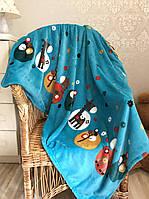 Детский плед одеяло Жирафы