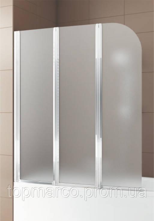 Шторка для ванны Bas Тесса 3 glass 140x145