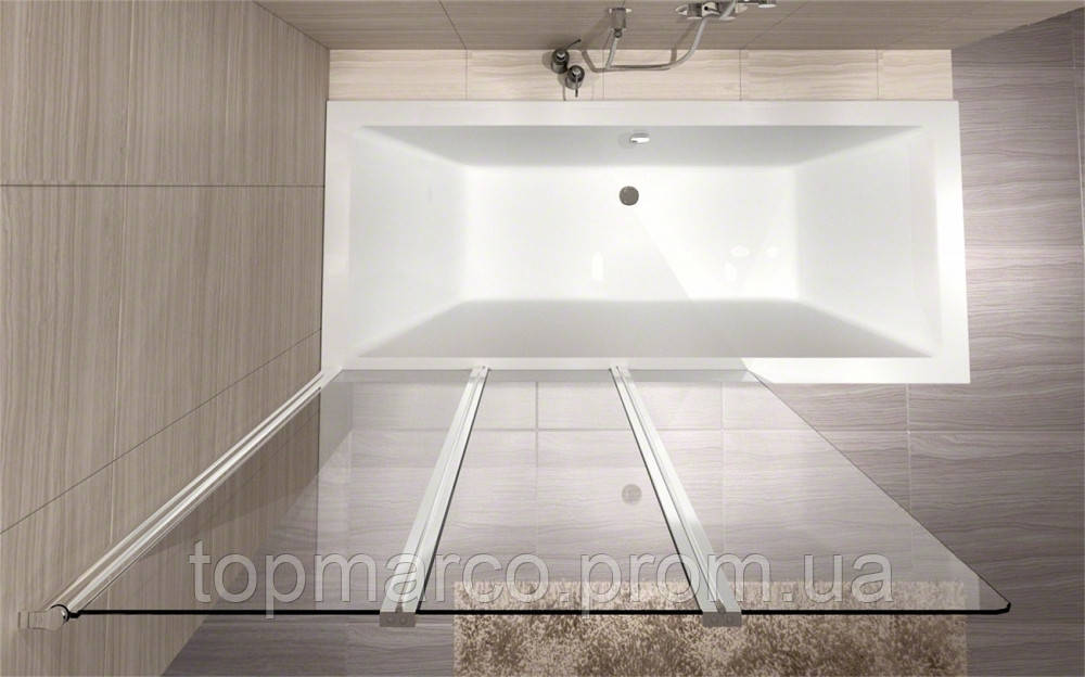 Шторка для ванны  REA  AGAT-3 120 4